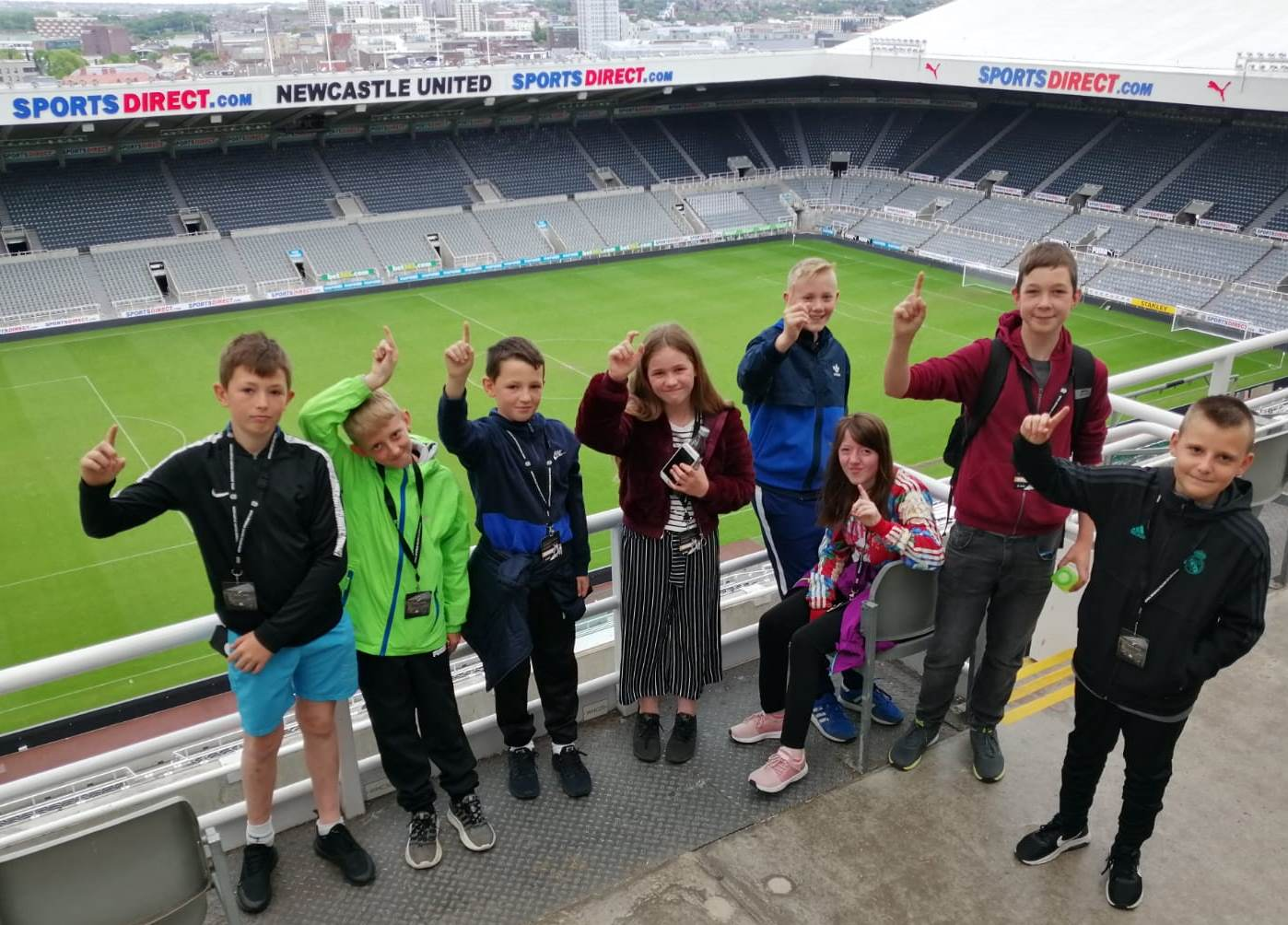 Siblings Support Group at St James' Park